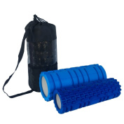 Fastar EVA Hollow Yoga Column Deep Tissue Foam Therapy Roller Set for Massage Fitness Muscle Relaxation
