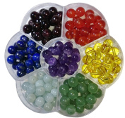 Berties Beads Gemstone Chakra Bead Mix 140 beads 8mm