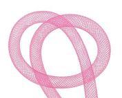 Hose Accessories Hose 3 Metres 8 mm Diameter Round Pink Fascinator Net for Decoration DIY Jewellery Bracelet Chain Per Metre C87