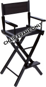 80cm Wood Frame Director Chair Body by Trademark Innovations