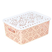 YJYdada Plastic Storage Basket Box Bin Container Organiser Clothes Laundry Home Holder