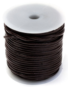 Cousin 34737017 Imitation Suede Cord Spool, 25 yd, Brown