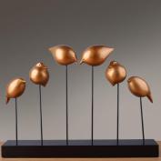 Modern creative iron bird crafts decoration