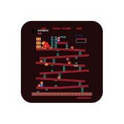 """80s Donkey Kong Screenshot"" NOVELTY Hot Drinks Coaster - Fun Retro Gaming Themed Design"