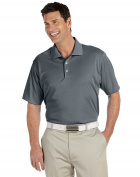 adidas Golf Men's Climalite Basic Short-Sleeve Polo - Grey -