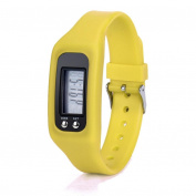 Bluestercool Digital LCD Pedometer Run Step Walking Distance Calorie Counter Watch Bracelet