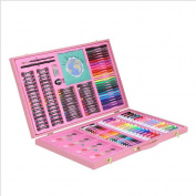 HTTMYY 258pcs School Stationery Drawing Chidren Painting Art Set Good Gift for Kids Pencil Watercolour Pen