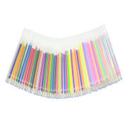 60pcs Colourful Gel Pen Refills for Adults Colouring Books Scrapbook Drawing Art Markers Replacement Refill