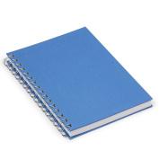 Linen sketchbook A5 blue