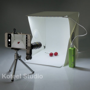 Mini Photography Studio Light Tent Light Room Light Box Kit with LED Light