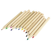 12PCS Gullor Assorted Colours Coloured Pencils Including Pencil Sharpener