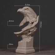 GFEI Sandstone sculpture art / animal Home Furnishing living room decoration office decoration retro crafts,G