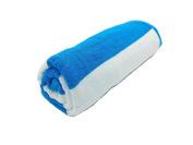 Terry Cotton Cabana Beach Towels, AQUA/WHITE