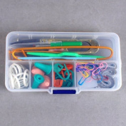 Zhichengbosi Basic Knitting Tools Accessories Supplies with Case Knit Kit Lots