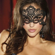 NiceButy Black Sexy Lady Lace Mask Cutout Eye Maske For Masquerade Masks Dress Costume Party Fancy Decoration Event Supplies