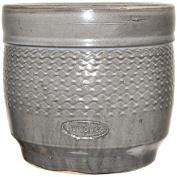 Living & Co Pot Drum Grey Size 2 36.5 x 31.5cm