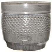 Living & Co Pot Drum Grey Size 3 28.5 x 26cm