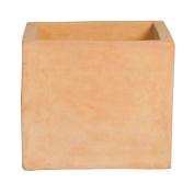 Pot Square Cube Terracotta 27cm x 24cm