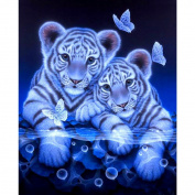 wuayi Home Handmade Decor Gift Creative 5D DIY Love Animal Diamond Painting Embroidery Full Round Diamond