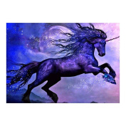 Demiawaking Jumping Animal 5D Diamond Painting Embroidery DIY Cross Stitch Home Decor