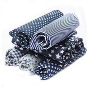 RainBabe Polka Dot Floral DIY Sewing Scrapbook Cotton Craft Fabric Bundle Patchwork Quilting