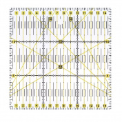 Demiawaking 15 x 15 cm Acrylic Quilting Patchwork Ruler Square for DIY Sewing Patchwork Craft