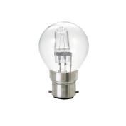 Bulk Hardware BH02385 Eco-Halogen Energy Saving Golf Ball Dimmable Bulb, 28 W Bayonet Cap - 10 Bulbs