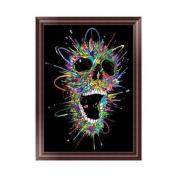 Dairyshop DIY 5D Skull Diamond Embroidery Painting Cross Stitch Art Craft Home Decor Gift