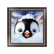 Dairyshop Cute Penguin DIY 5D Diamond Embroidery Painting Cross Stitch Craft Home Decor