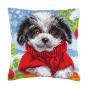 COLLECTION D'ART |Cross Stitch Cushion