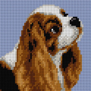 Cavalier King Charles Spaniel Tapestry Canvas