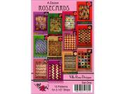 Villa Rosa Designs VRD71147 A Dozen 1 Pattern Rose Cards Set
