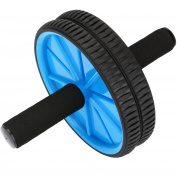 Reehut Ab Roller Wheel - The Exercise Wheel with Dual wheel and Comfy Foam Handles - Easy to Assemble, Best for Abdominal Workout