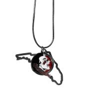 Siskiyou Women's Sports Kansas Jayhawks State Charm Necklace