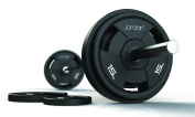 Jordan Classic Rubber Olympic Discs - Free Weights, Plates, Durable