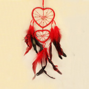 Vintage Dreamcatcher, Woopower Feather Auto Wall Hanging Ornament Decoration Handcraft Home Decor