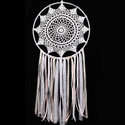 Handmade Lace Flower Dream Catcher,Woopower Wall Hanging Home Auto Decor Craft Ornament Gifts Dreamcatcher
