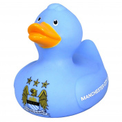 Manchester City FC Official Bath Time Football Crest Vinyl Duck