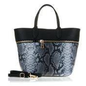 FIRENZE ARTEGIANI. Women Genuine Leather Shopping handbag. TOTE ENGRAVED Leather Bag.MADE IN ITALY. GENUINE ITALIAN LEATHERBASE INFERIOR : 23 BASE SUPERIOR : 34x24x14 cm. Colour