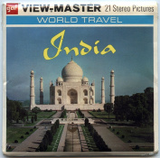 India - Land of the Taj Mahal - ViewMaster Reels 3D - Unsold store stock - never opened