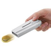 Beer Bottle Opener,Rambling Creative Flying Zappa Flat Beer Drink Bottle Opener Cap Launcher Top Shooter Key Ring Kitchen Tool