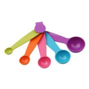 LALANG 5pcs/set Multi-purpose Measuring Spoon Flour Spice Sugar Spoon Set for Kitchen