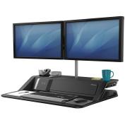 Fellowes Lotus™ DX Sit-Stand Workstation - Black