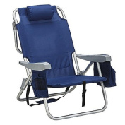 Essential Garden 4 Position All-In-One Chair- Blue
