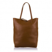FIRENZE ARTEGIANI. Women Genuine Leather Shopping handbag. Top Handle Shopper SOFT Leather Bag.MADE IN ITALY. GENUINE ITALIAN LEATHER27x37x13 5 cm. Colour