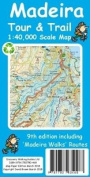 Madeira Tour & Trail Paper Map 9th edition