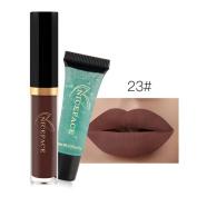 Poluck Hot Sales Lipstick+Cleansing Gel Set Matte Sheer Lipstick Fashionable Colours Long Lasting Lipsticks Beauty Lip Gloss 2 PC
