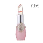 Lipstick Set Chartsea Beauty Bright Flower Crystal Jelly Lipstick Magic Temperature Change Colour Lip Balm Makeup