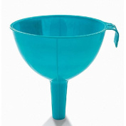 CWAIXX Kitchen tools plastic funnel large home soy sauce vinegar water oil spill mounted pot filler funnel , Blue