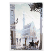Collection D'Art - Printed Aida Fabric - Old Town
